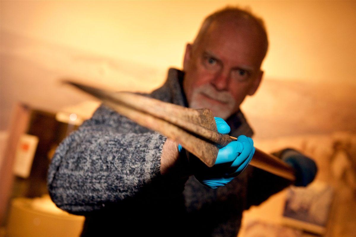 В Великобритании нашли древний наконечник копья