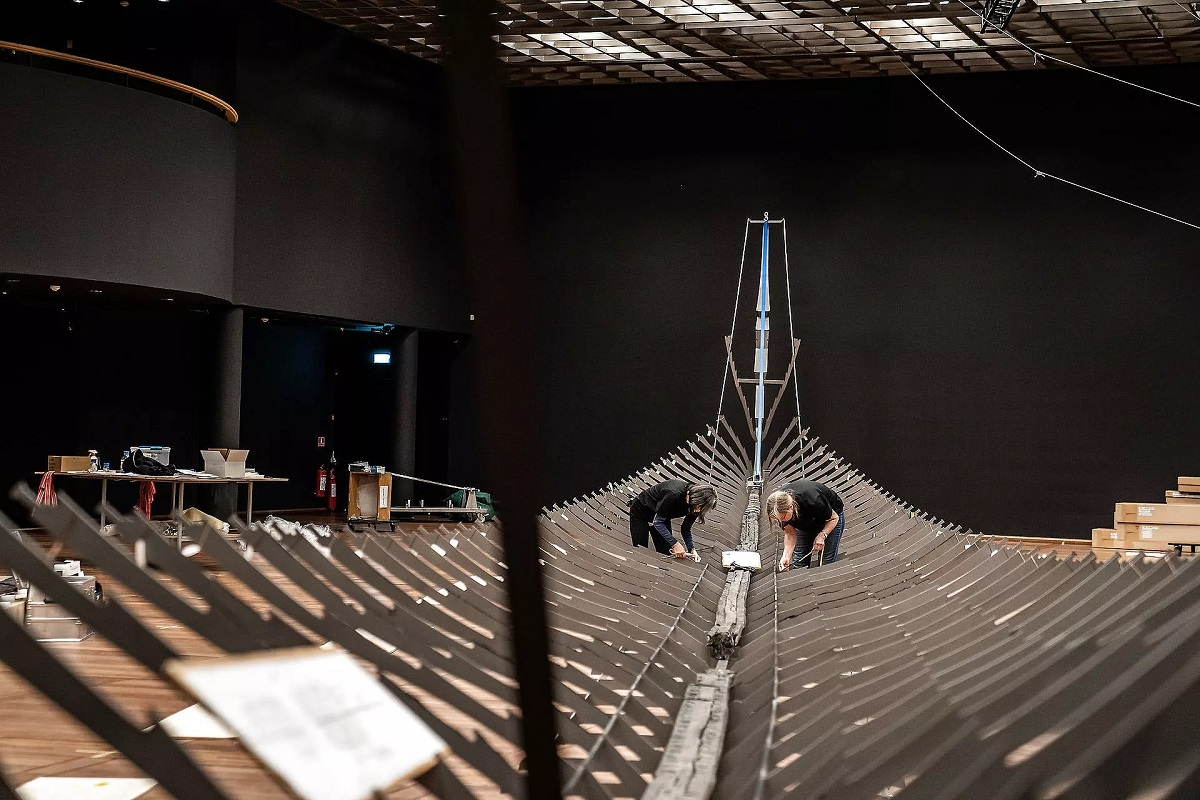 В датском музее покажут самый длинный корабль викингов
