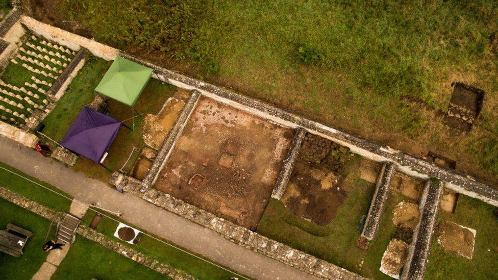 В Великобритании нашли римскую мозаику