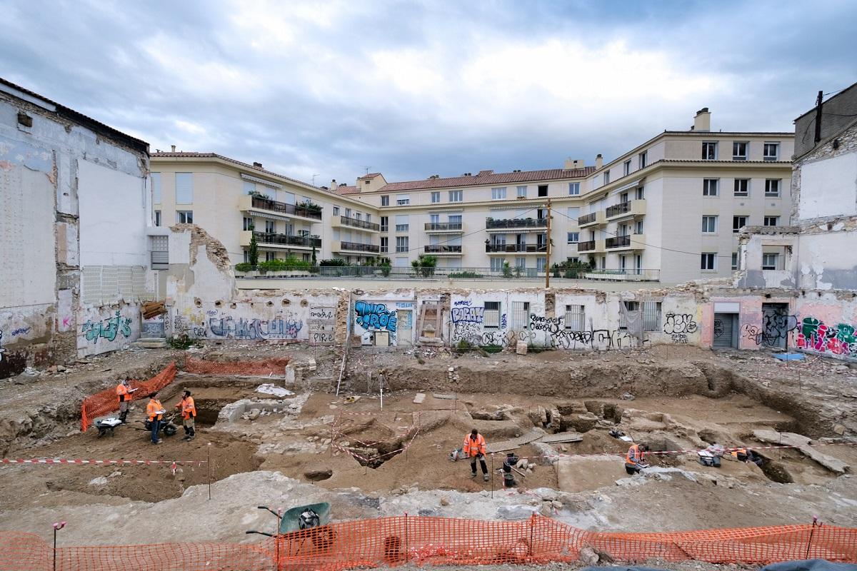 Во французском городе раскопали римский особняк