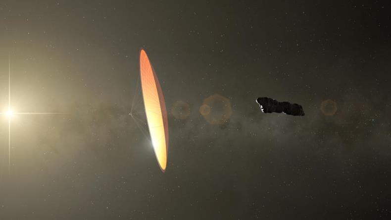 По мнению астронома из Гарварда, в 2017 году Землю посетили инопланетяне