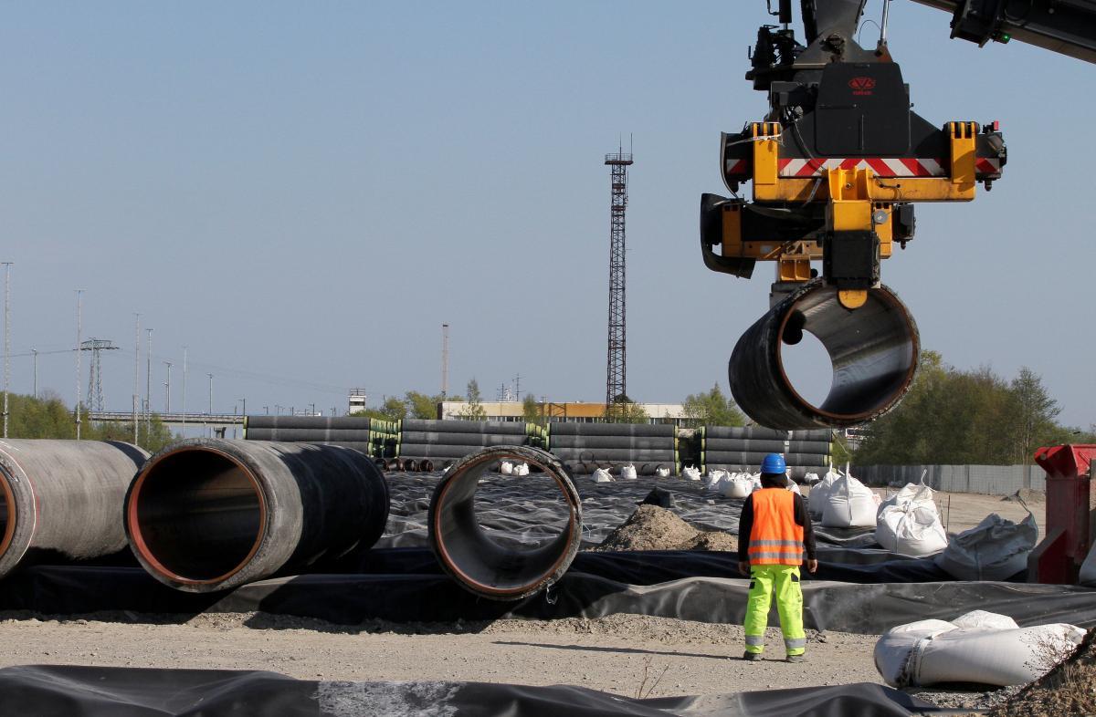 Украина и Польша просят Байдена покончить с 'Северный потоком-2'