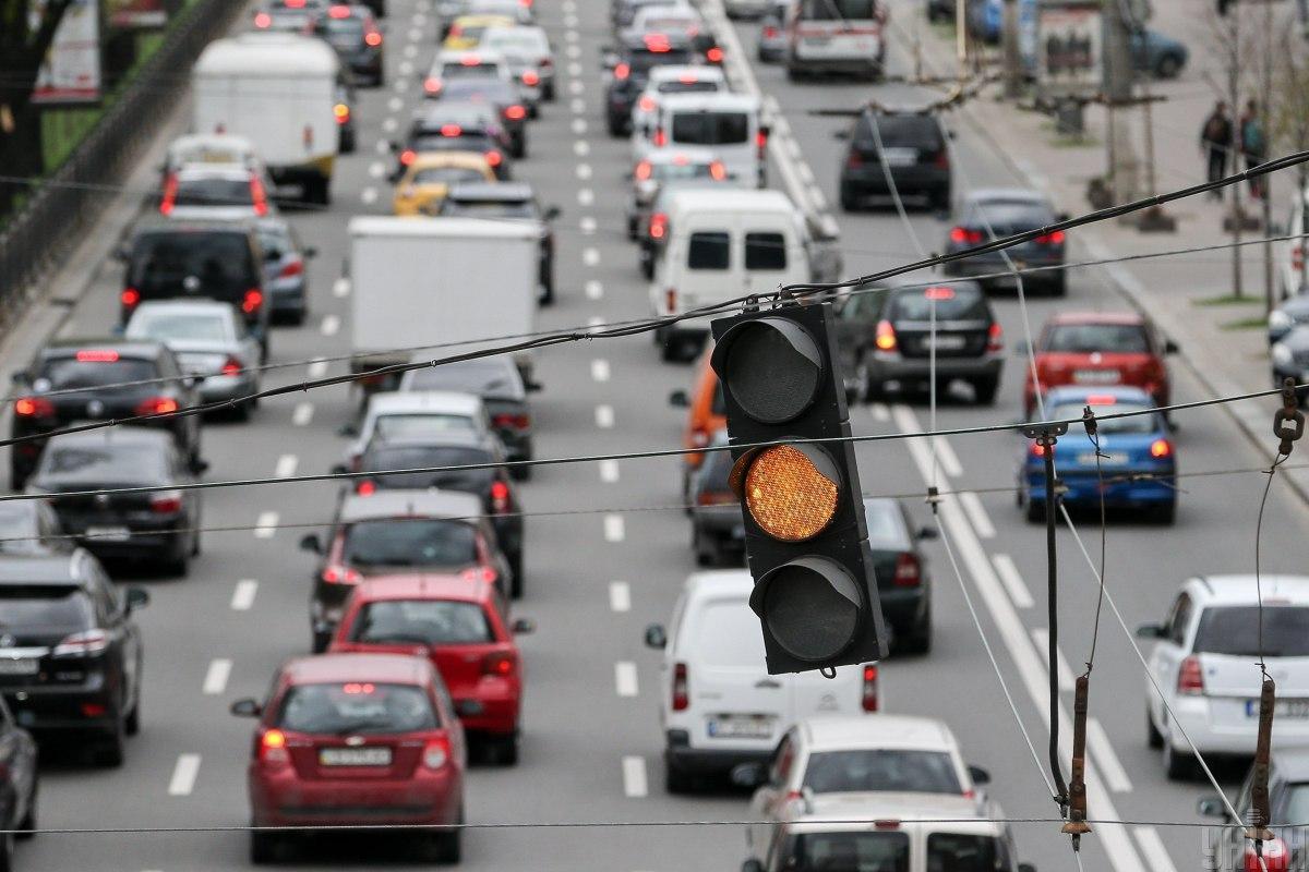 Утренние пробки в Киеве: какая ситуация на дорогах столицы в последний рабочий день зимы