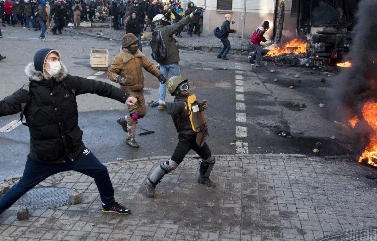 Рада дала оценку режиму Януковича во время событий Революции Достоинства