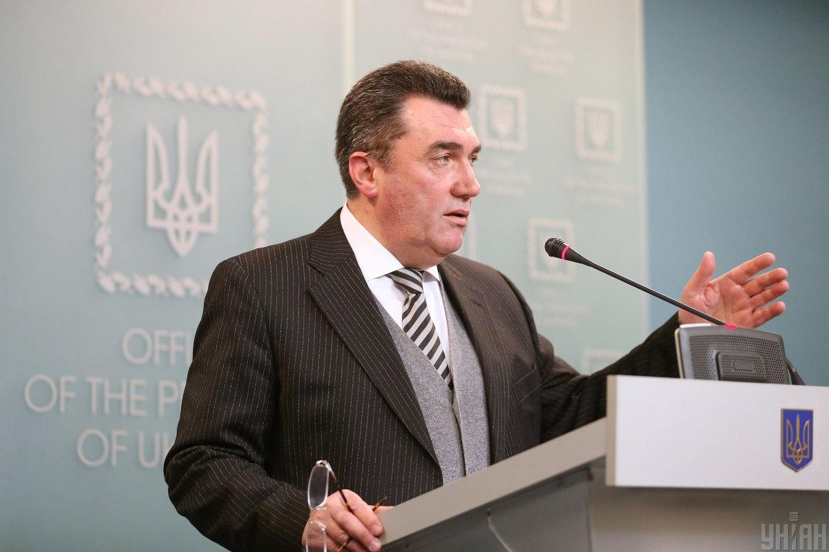 Украина должна обсуждать Донбасс только с Россией - секретарь СНБО
