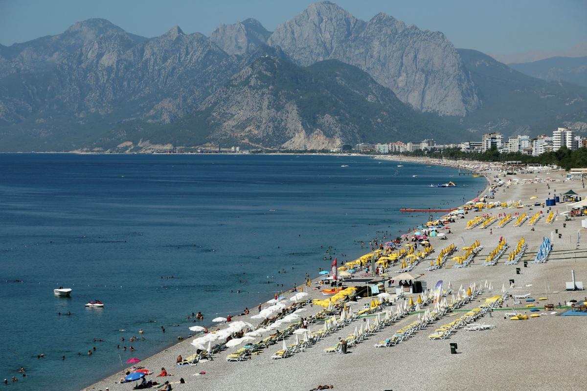 В 2020 году Турцию посетили около миллиона украинцев