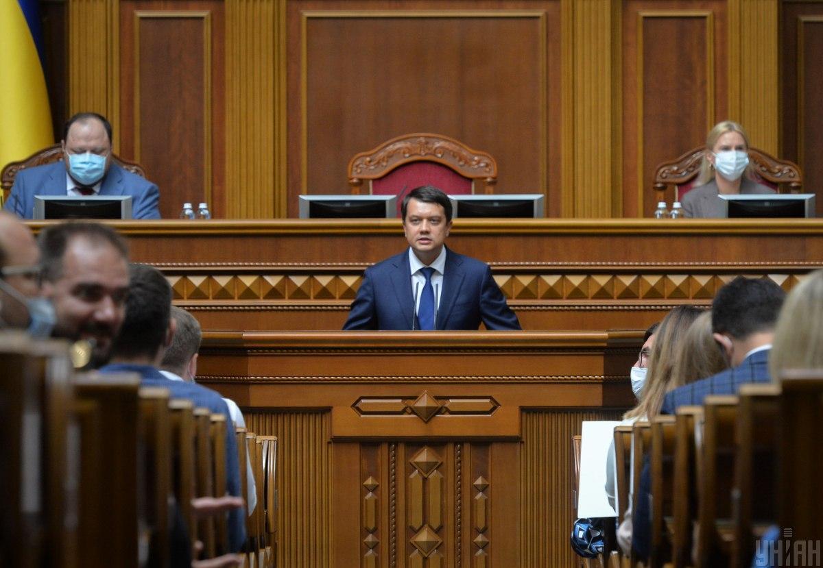 Вопрос об отставке премьера и Кабмина в ближайшее время не будет подниматься - Разумков