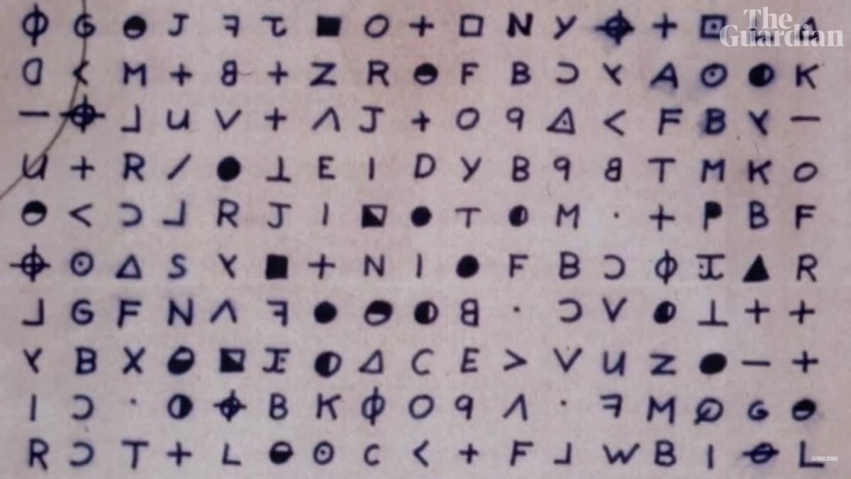 Спустя полвека: эксперты разгадали шифр известного маньяка 'Зодиака'
