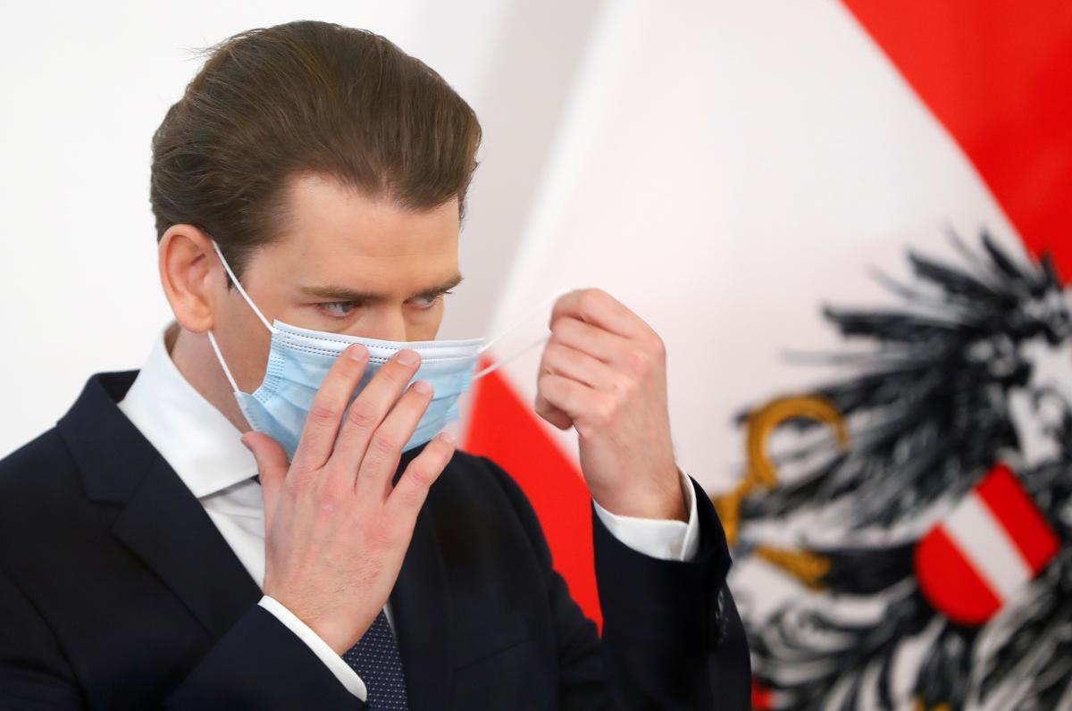 Австрия введет новый национальный карантин с 26 декабря