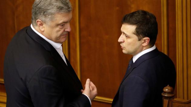 Зеленский заявил, что не готов сотрудничать с «олигархом Порошенко»