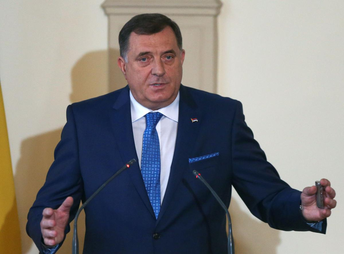 В Боснии оппозиция требует отставки Додика после скандала с украинской иконой