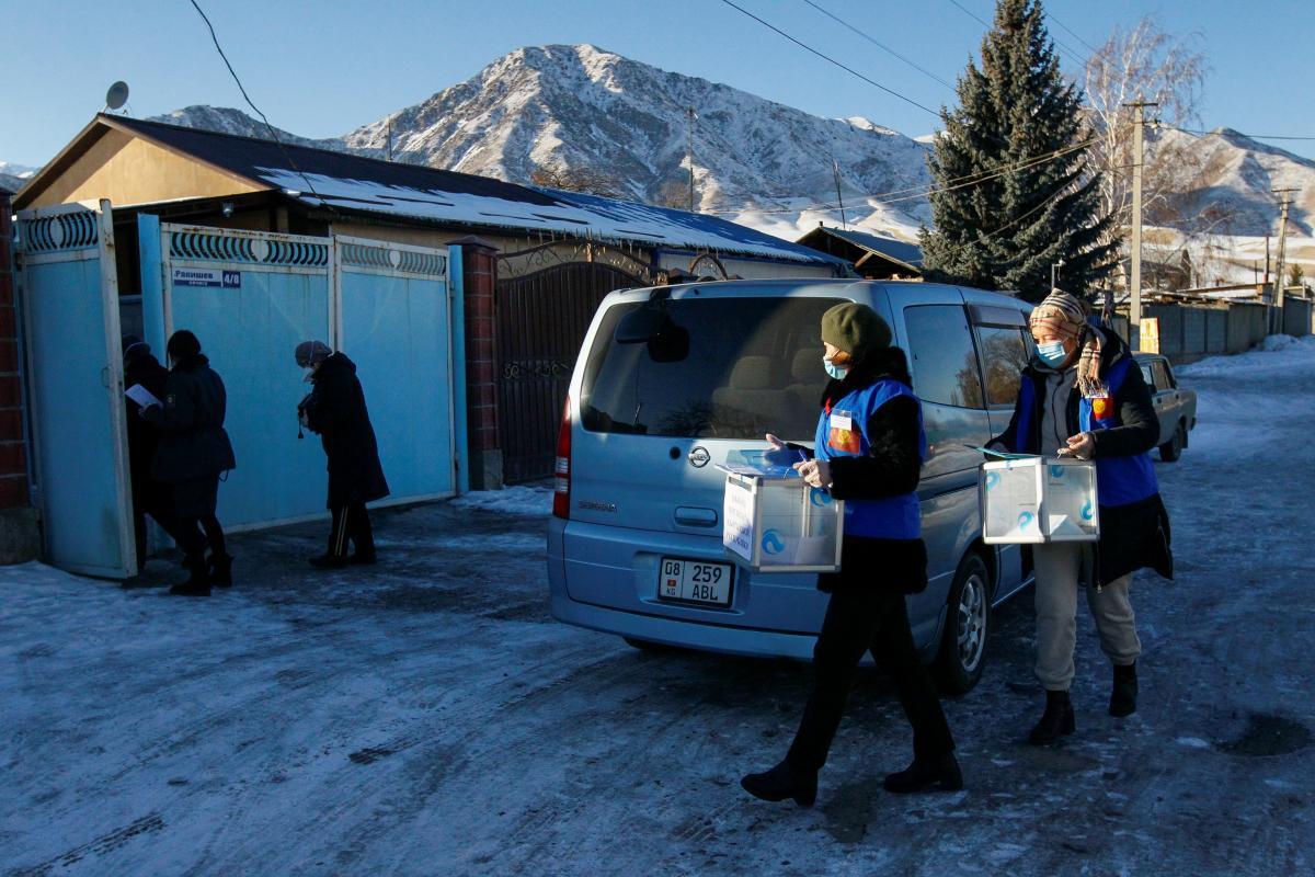 В Кыргызстане проходят выборы президента