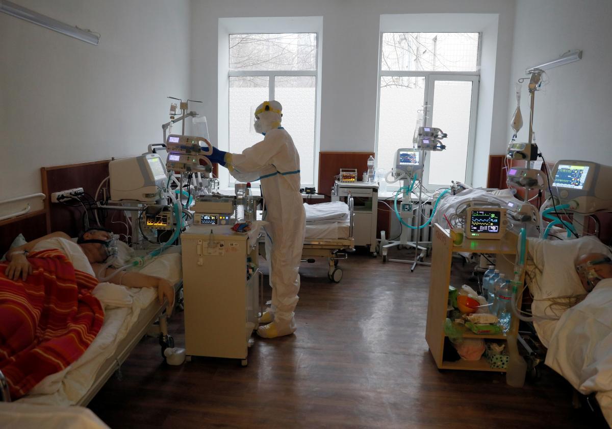 В Украине за сутки обнаружили еще две тысячи новых случаев COVID-19, больше всего - в Ивано-Франковской области