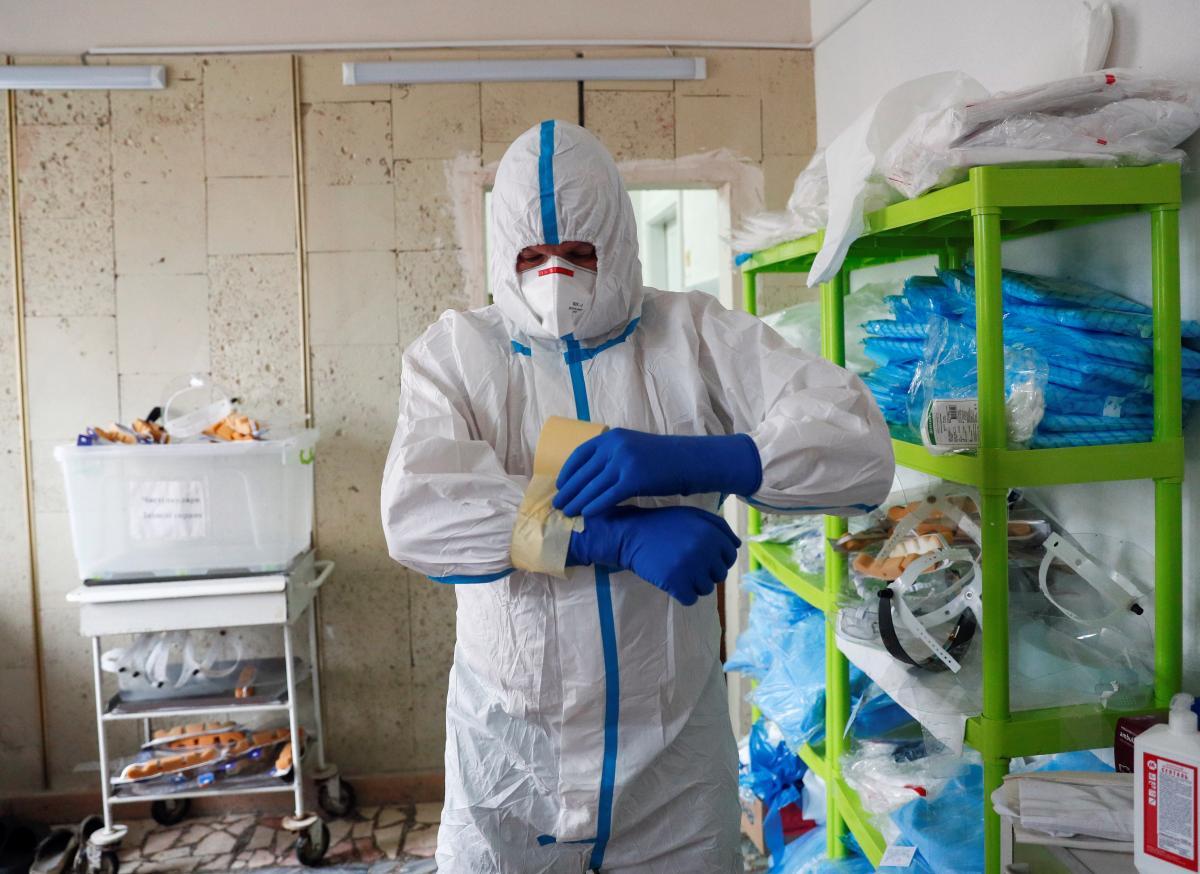 В Украине рекордное количество госпитализаций пациентов с COVID-19 в сутки - Радуцкий