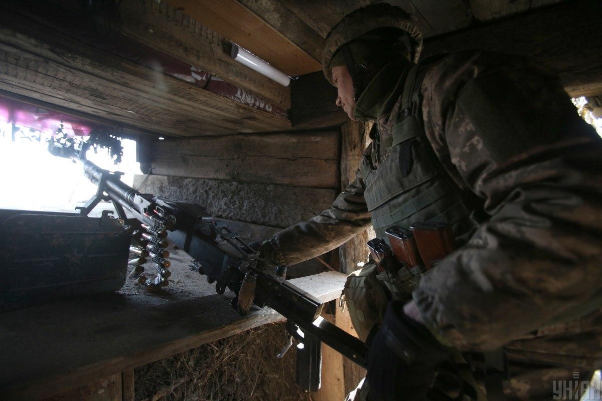 Вчера боевики девять раз обстреляли украинских военных на Донбассе