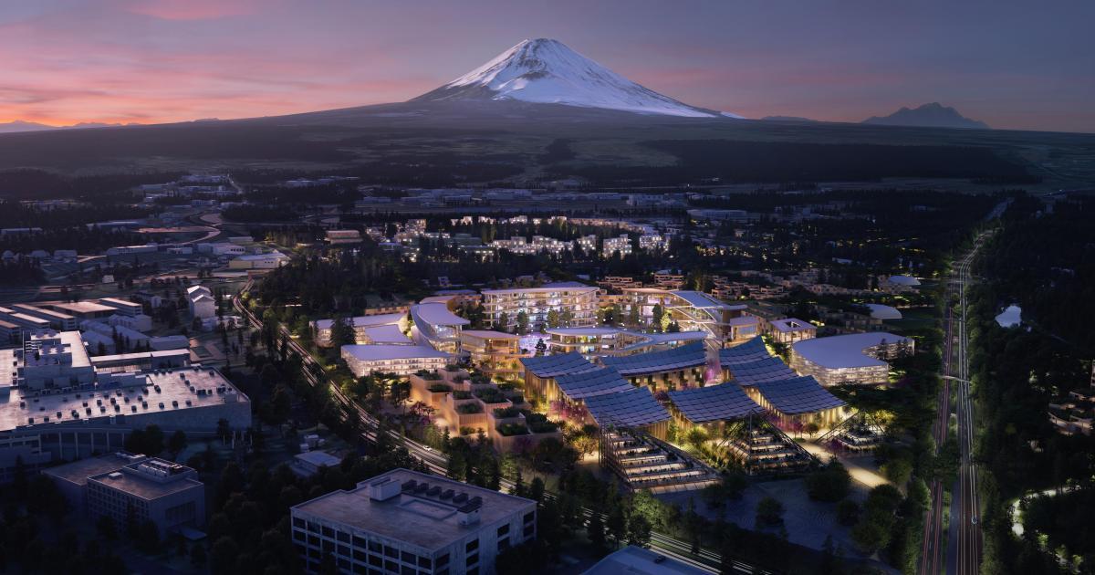 Технологический рай у подножия Фудзи: Toyota начала строить умный город с роботами и искусственным интеллектом