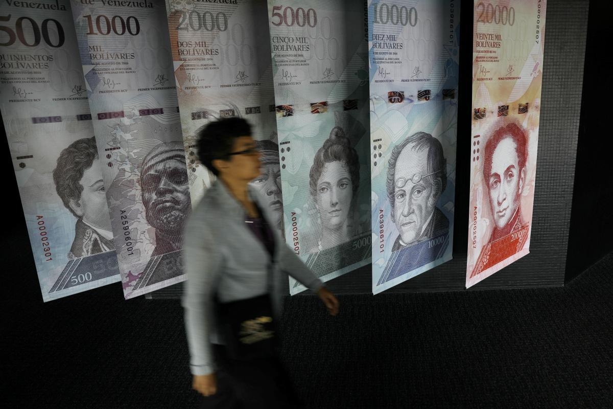 В Венесуэле введут банкноты в 1 миллион боливаров