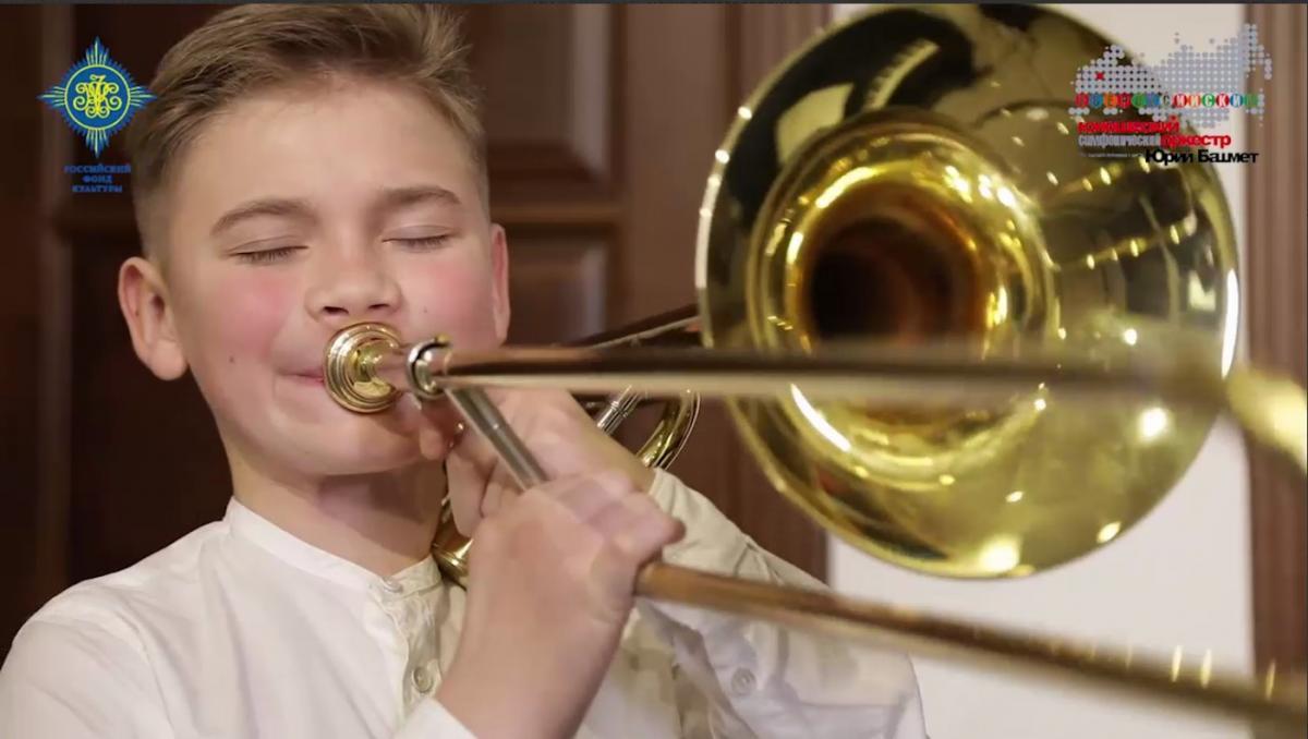 В Москве пенсионерка 'натравила' на внука полицию, так как он отказался играть на тромбоне