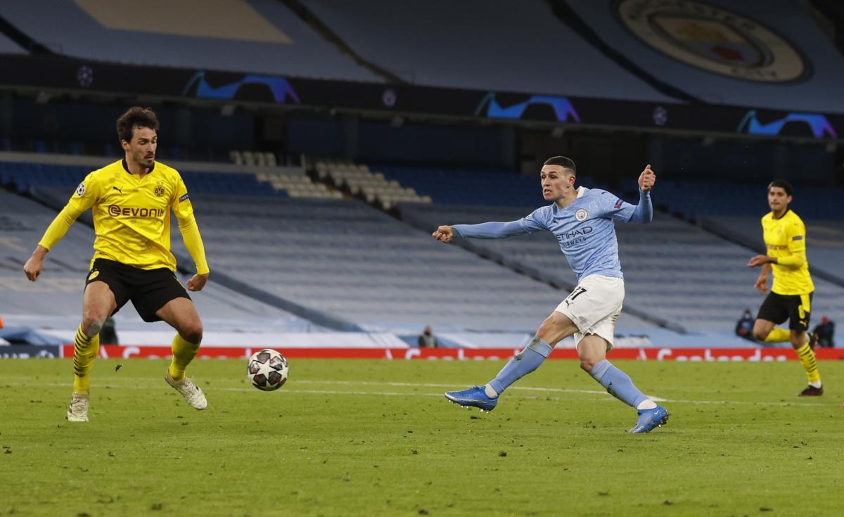 Лига чемпионов: Ман Сити вырвал победу в непростом матче с Боруссией