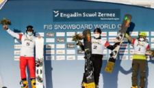 Кузбасский сноубордист завоевал золото на Кубке мира в Швейцарии