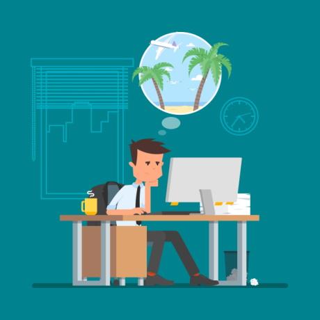 Как уведомить работника о начале отпуска?