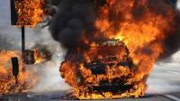 В Страсбурге в новогоднюю ночь сожгли 60 машин