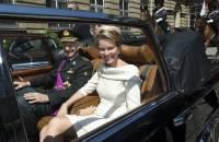 В Брюсселе кортеж бельгийского короля попал в зону беспорядков