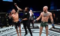 Порье одержал победу над Макгрегором в главном бою турнира UFC 257