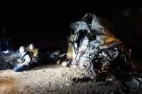 Под Самарой 7 человек погибли в ДТП с фурой