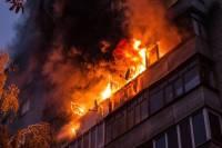 В Саратове два мальчика погибли при пожаре в многоэтажке
