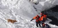 В Мурманской области нашли девочку, попавшую под лавину