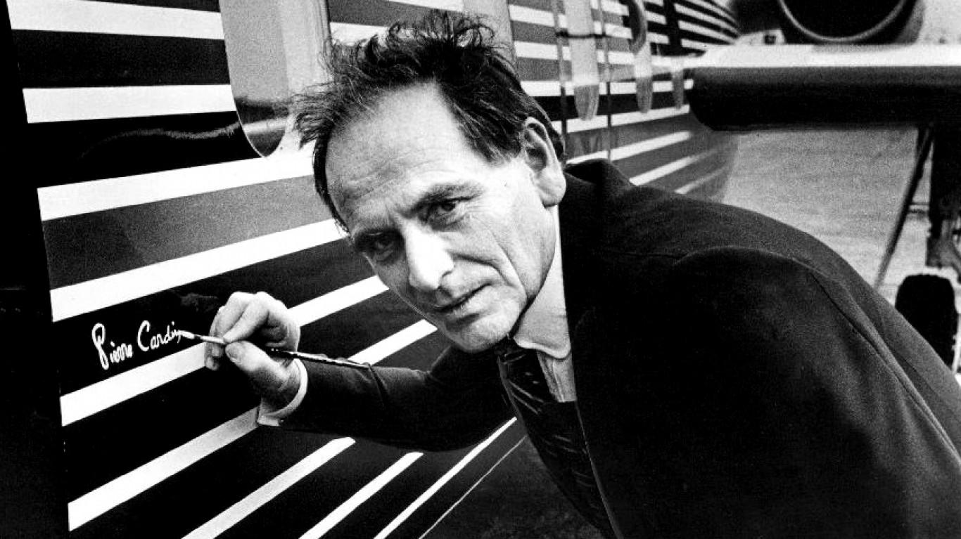 В Париже скончался французский модельер Пьер Карден