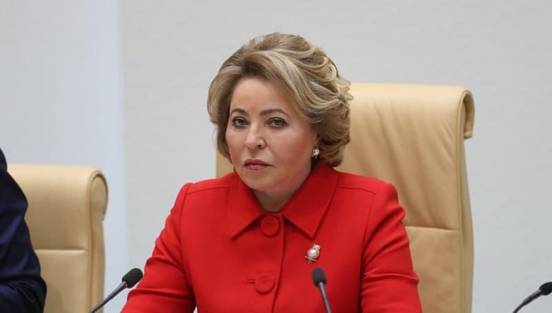 Матвиенко ответила на слухи о ее 450-тысячной пенсии