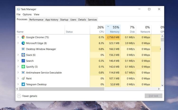 Google улучшит работу Chrome с памятью в Windows 10