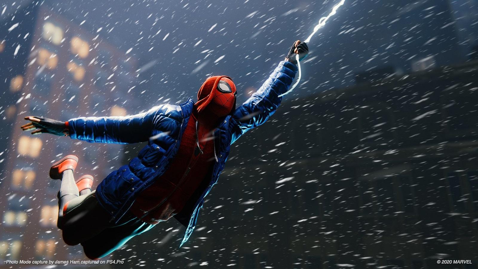 Новый патч добавил в Marvel's Spider-Man: Miles Morales функцию смены погоды