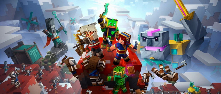 Minecraft Dungeons получит второй сезонный абонемент с четырьмя дополнениями