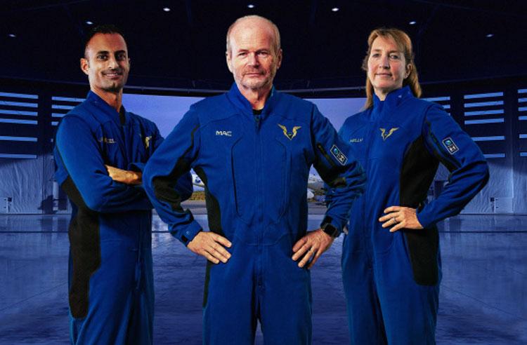 Virgin Galactic представила лётные костюмы для пилотов VSS Unity