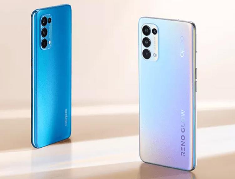 Цена производительных смартфонов OPPO Reno5 5G составит от $500