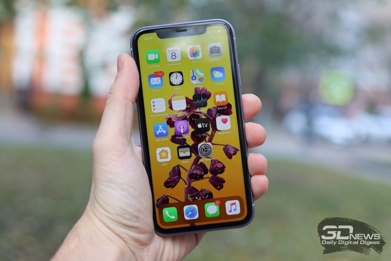 Apple бесплатно заменит дефектные дисплеи в iPhone 11