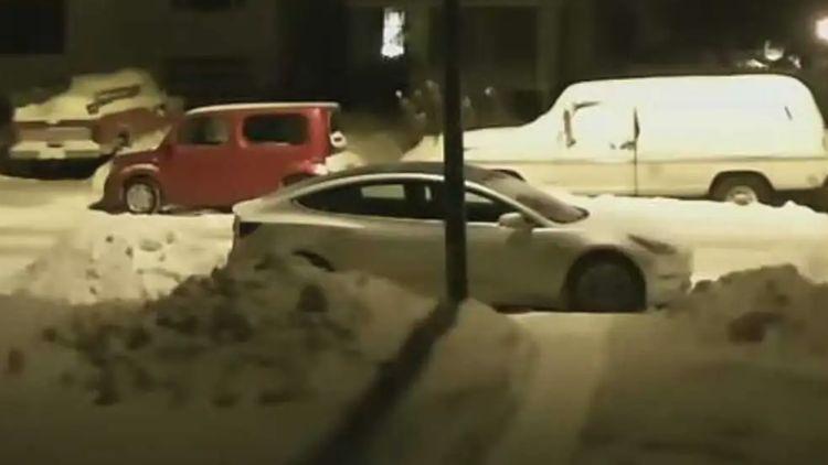 Яблоки на снегу: стоянка на морозе снижает запас хода Tesla Model 3 на треть