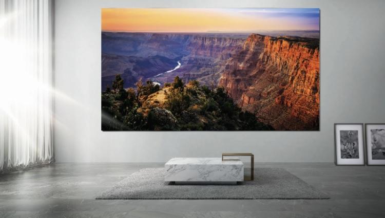 Samsung представит на этой неделе новый телевизор на основе MicroLED