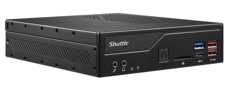 Представлен 1,3-литровый неттоп Shuttle DH470 с поддержкой 10 ядерных процессоров Intel