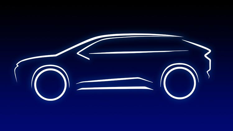 Toyota выпустит совершенно новый электрический кроссовер для Европы