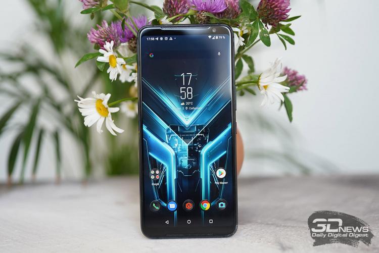 ASUS уже тестирует игровой смартфон ROG Phone следующего поколения на Snapdragon 888