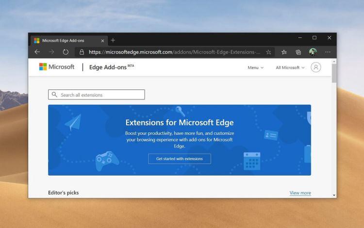 Microsoft добавила в браузер Edge функцию веб-поиска в боковой панели