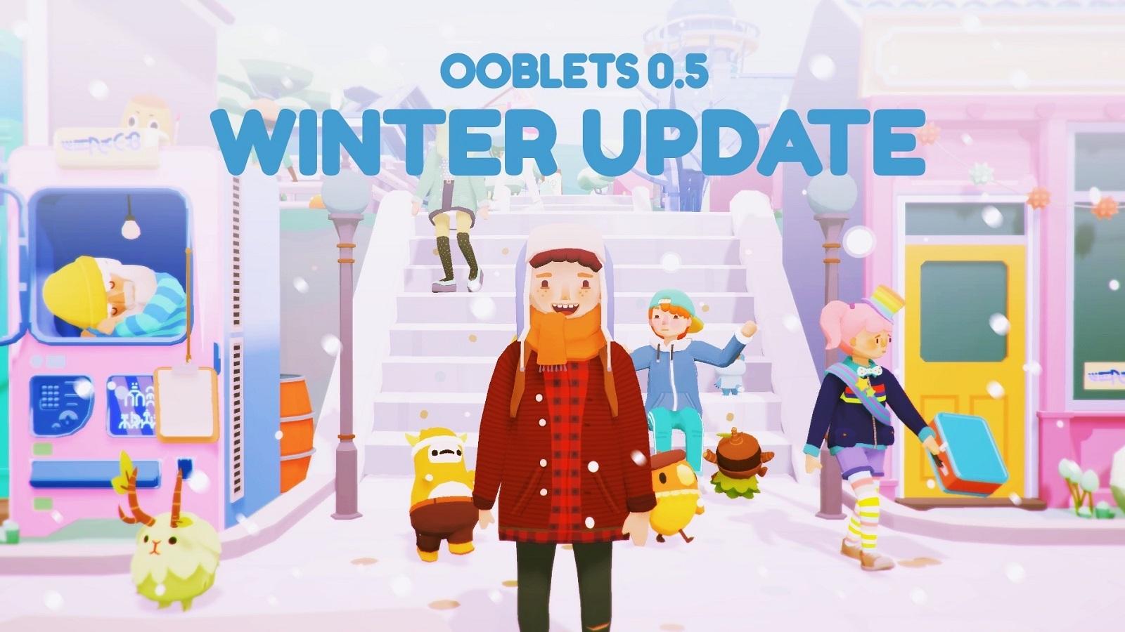 С выходом обновления 0.5 в Ooblets пришла зима, но не новый регион