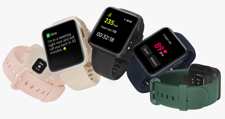 Xiaomi представила новые умные часы Mi Watch Lite