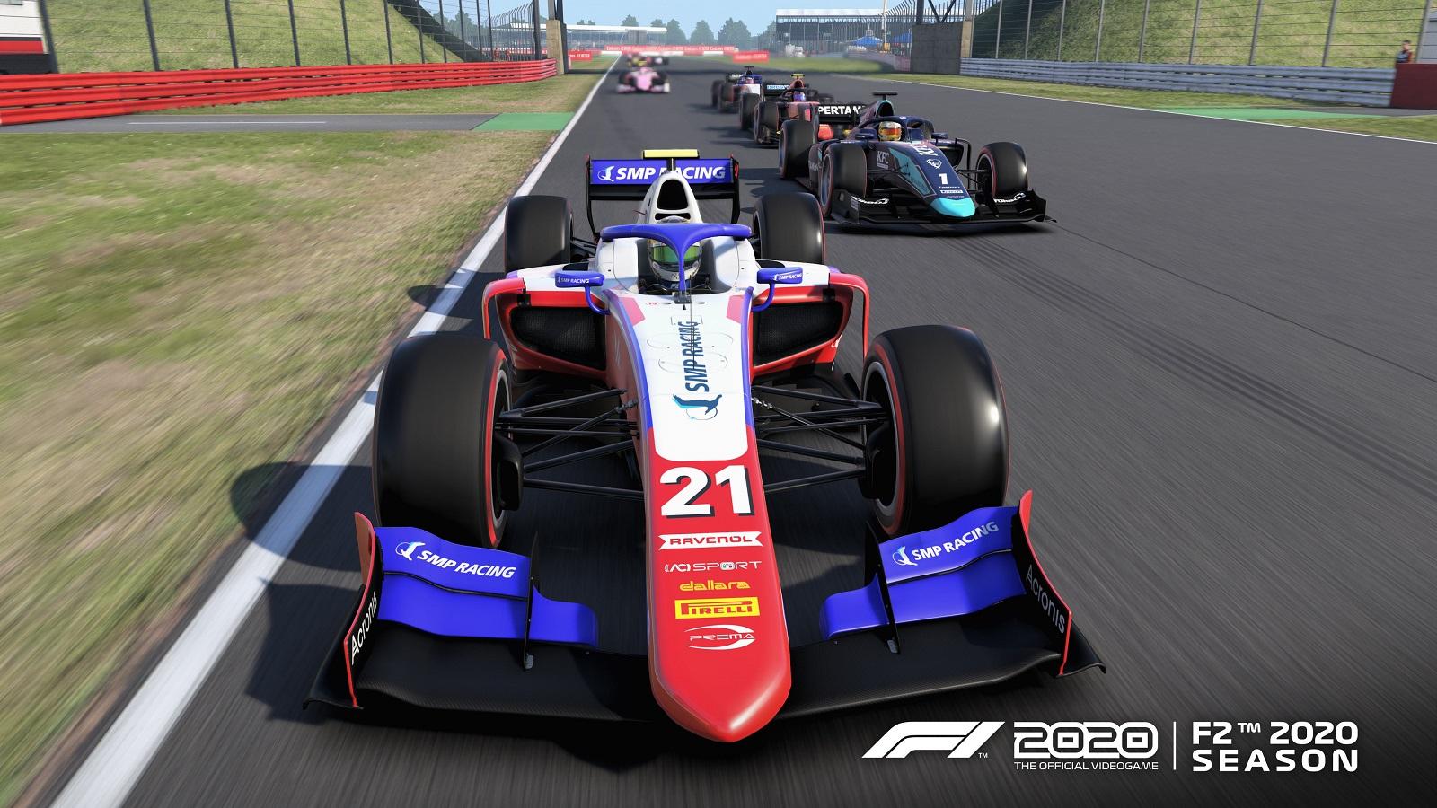 Со свежим обновлением F1 2020 пополнилась контентом «Формулы-2» из сезона-2020