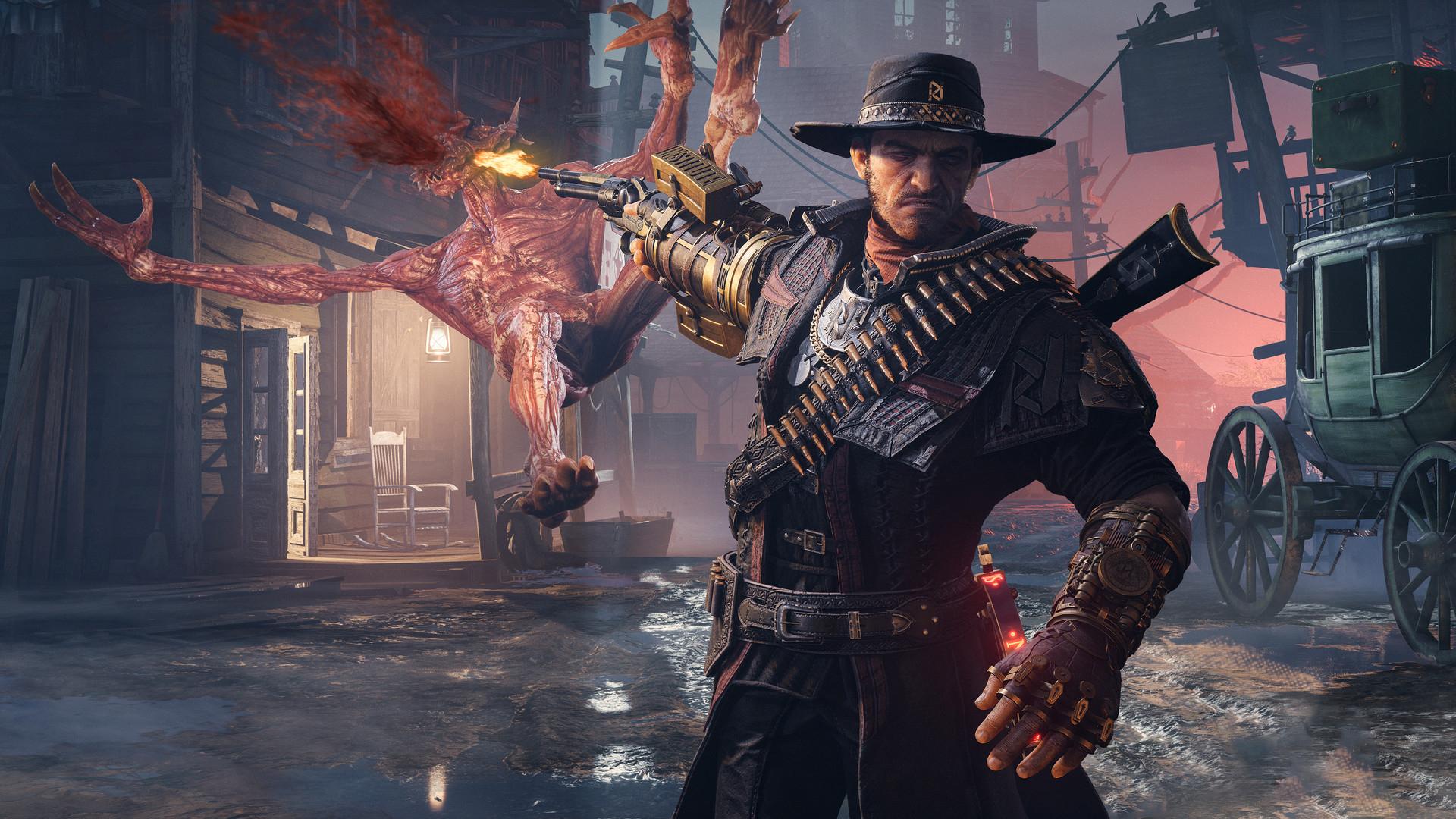 Evil West — новый «мясной» экшен о проблемах на Диком Западе от создателей Shadow Warrior