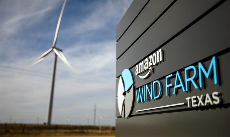 Amazon стала крупнейшим корпоративным покупателем «зелёной» энергии